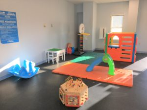 Indoor playground for children at the Quincy Park District