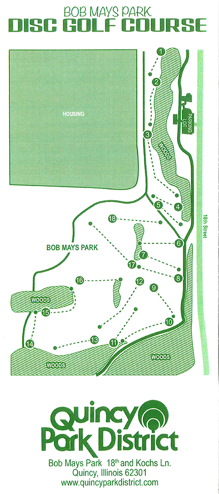 Bob Mays Disc Golf Course - Quincy Park District