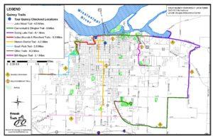 Trail Map - Quincy Park District