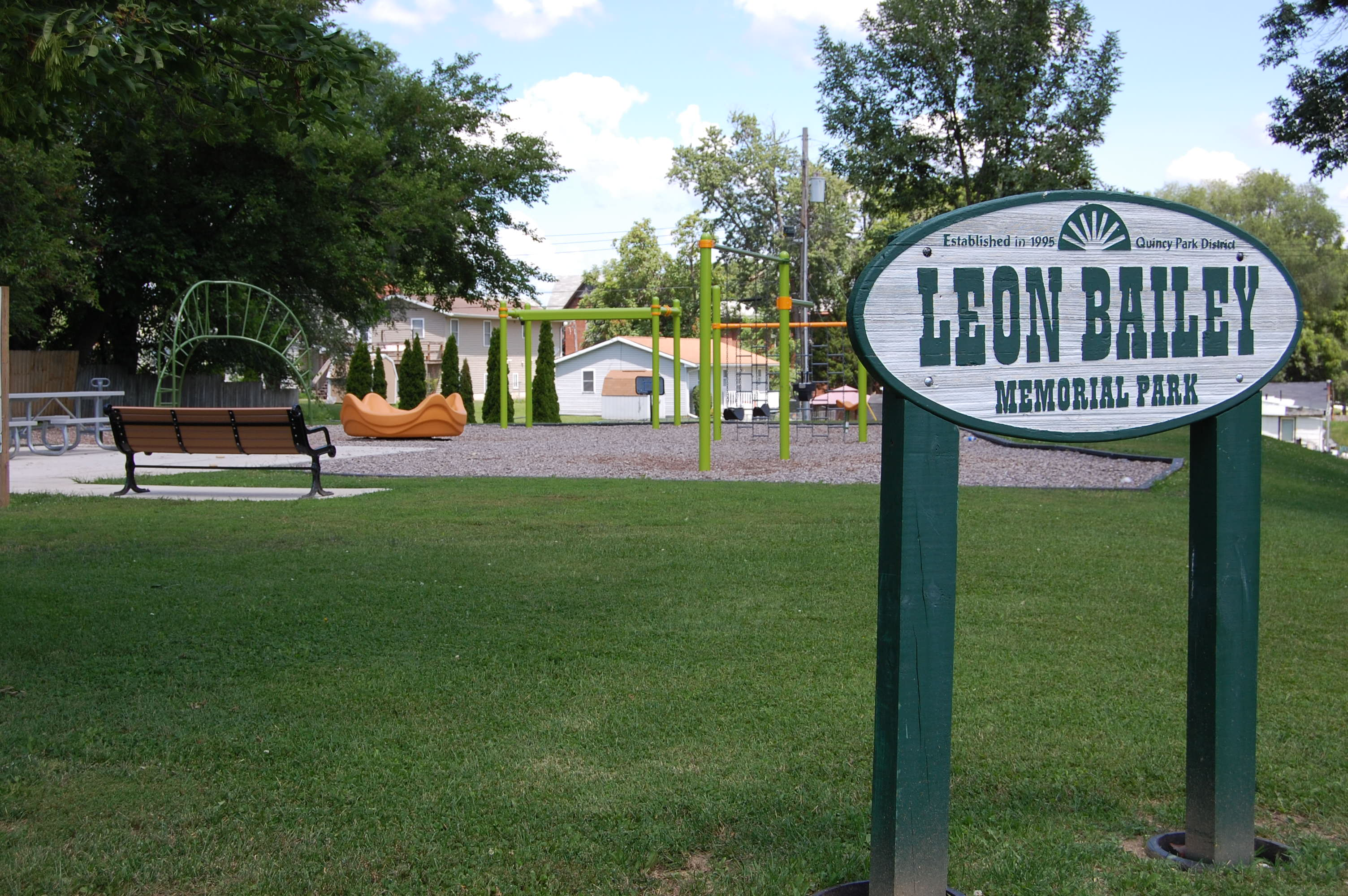 Leon Bailey Playground - Quincy Park District