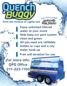 Quench Buggy - Quincy Park District