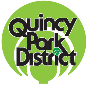 Quincy Park District Round Logo Green 2-7-18