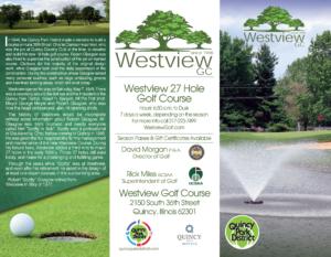 Westview Golf Flyer
