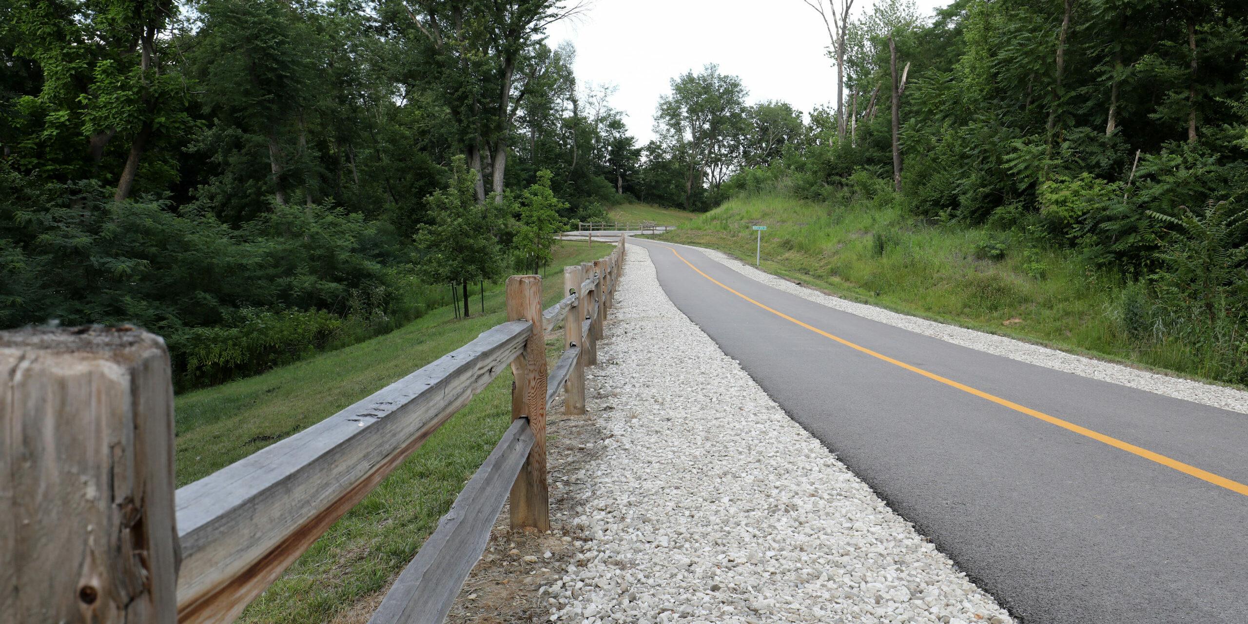 Road in Quincy park