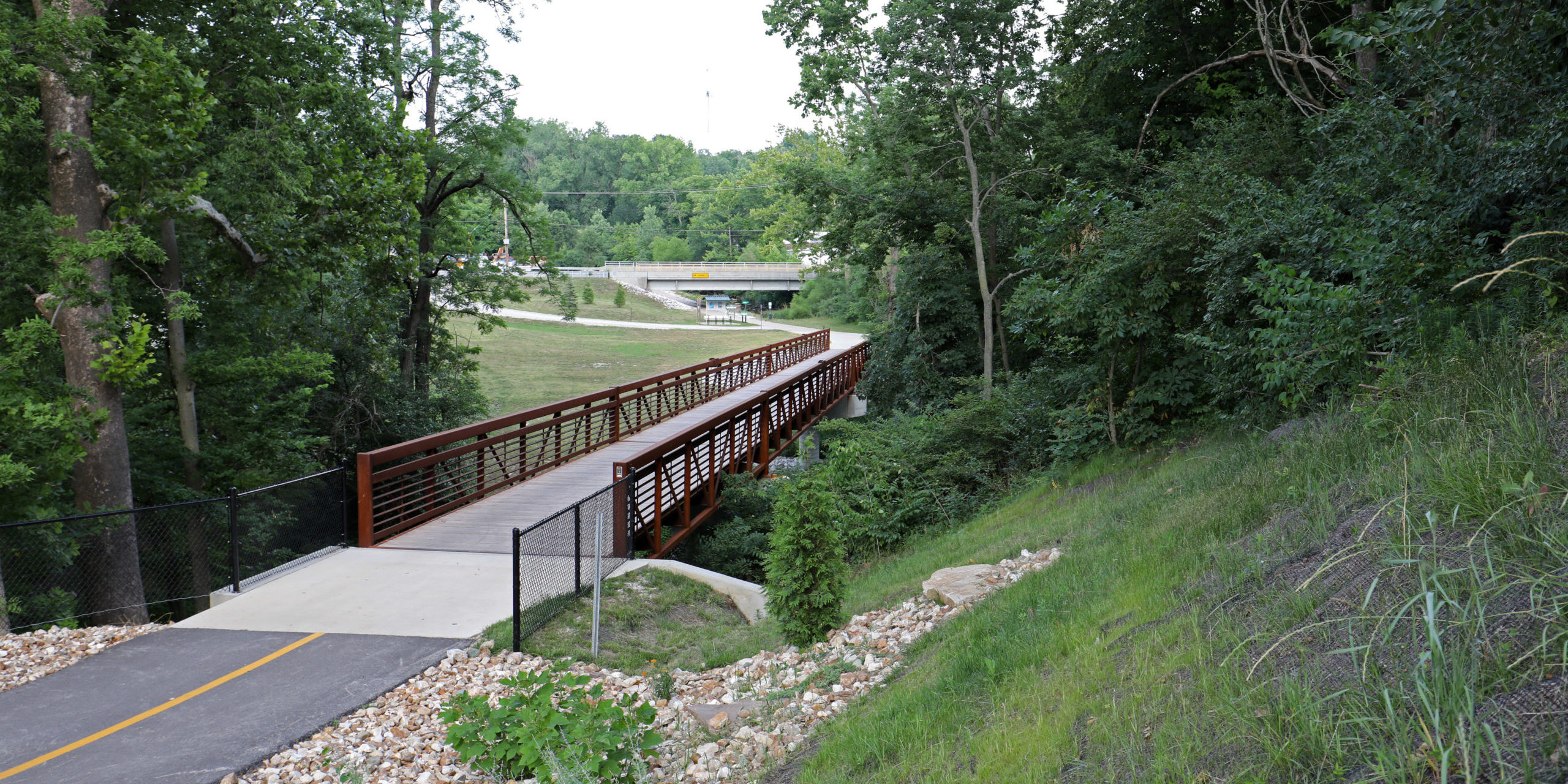 Quincy Park District bridge